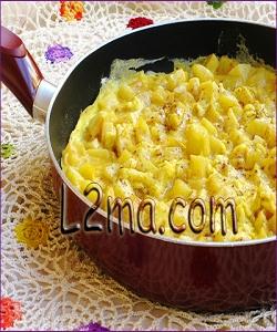 بيض ببطاطا