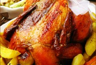 الدجاج روستو بالبرتقال