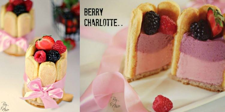 Mini Berry Charlotte ميني بلاك بيري شارلوت
