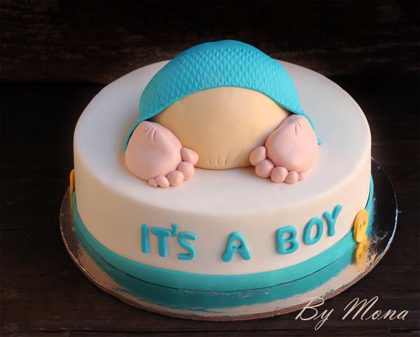 كاتو البيبي في الكيكة