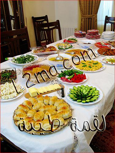 بوفيه مفتوح فطور سوري