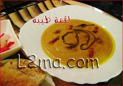 البـِصارة (الفول على الطريقة المغربية)