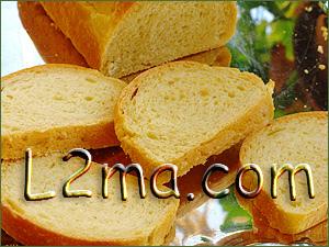 خبز التوست الطري