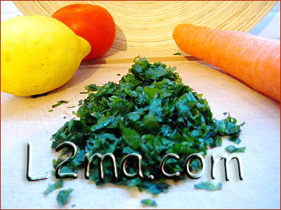 طريقة حفظ البقدونس والكزبرة للطبخ