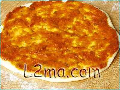 صلصة البيتزا بالطريقة الإيطالية الأصلية