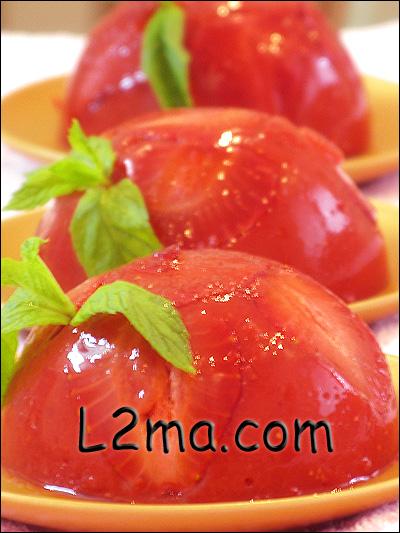 مهلبية الفراولة